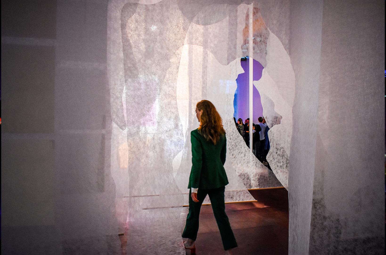 Création de l'identité visuelle de l'exposition Immortalised