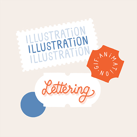 Illustration, lettering & animation
