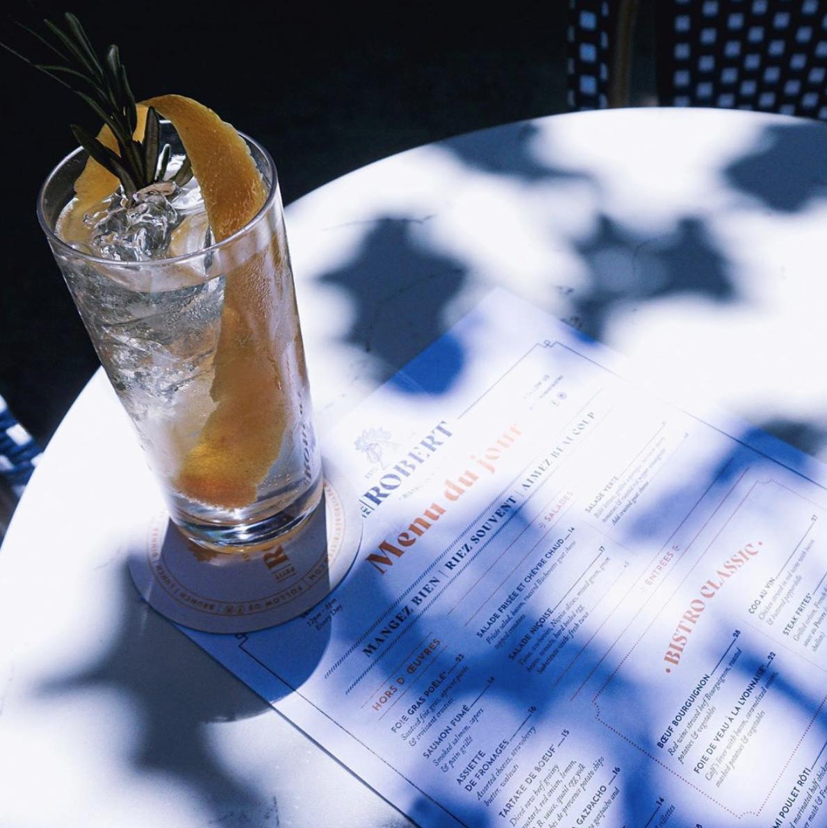Création des menus du restaurant Petit Robert Bistro