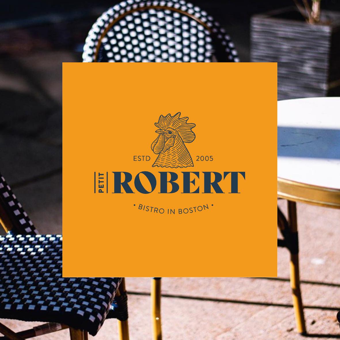 Création de logo pour Petit Robert Bistro